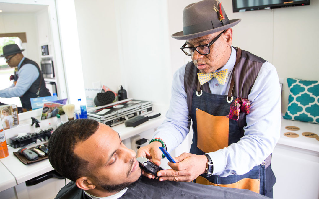 DON'T FORCE THEM TO BUY, GET THEM TO TRY! : CHOP CHOP Mobile Salon