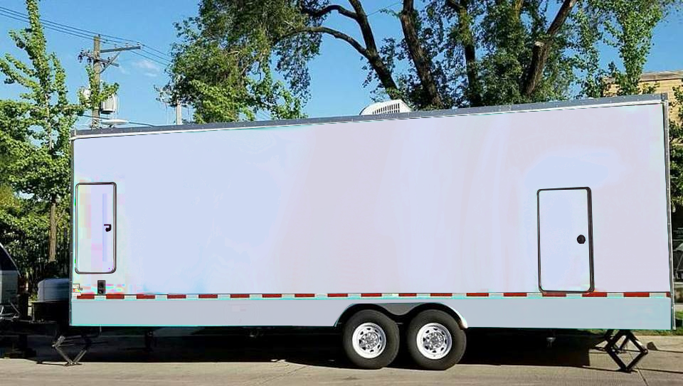 White Box Trailer