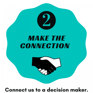 step 2 make connection